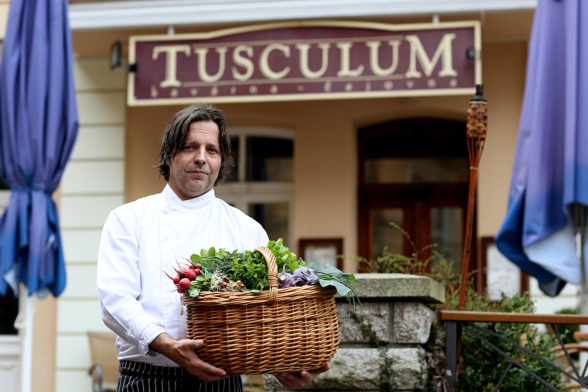 Šéfkuchař Pavel Provázek vede restauraci Tusculum od roku 2014