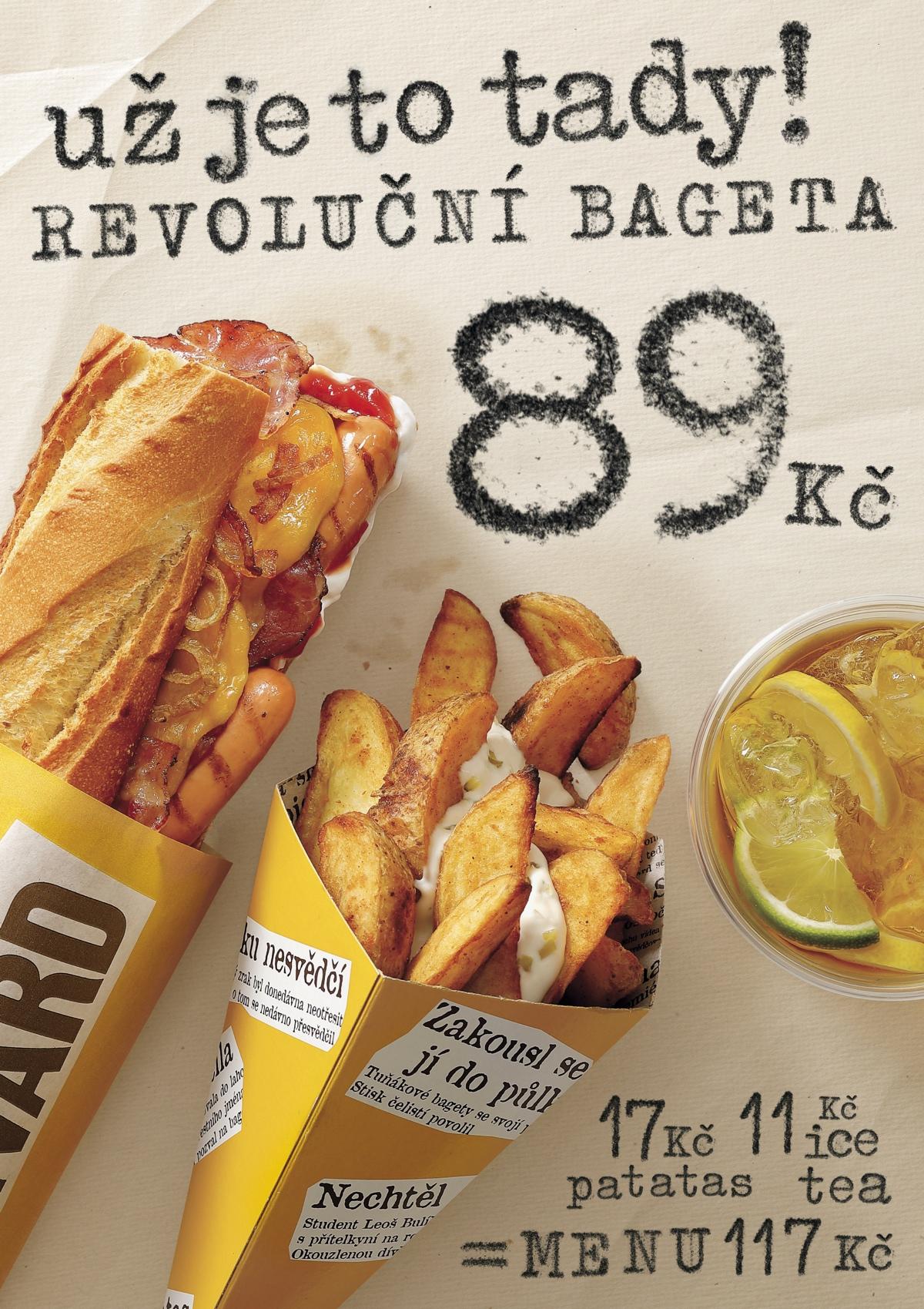 Revoluční bageta Bageterie Boulevard