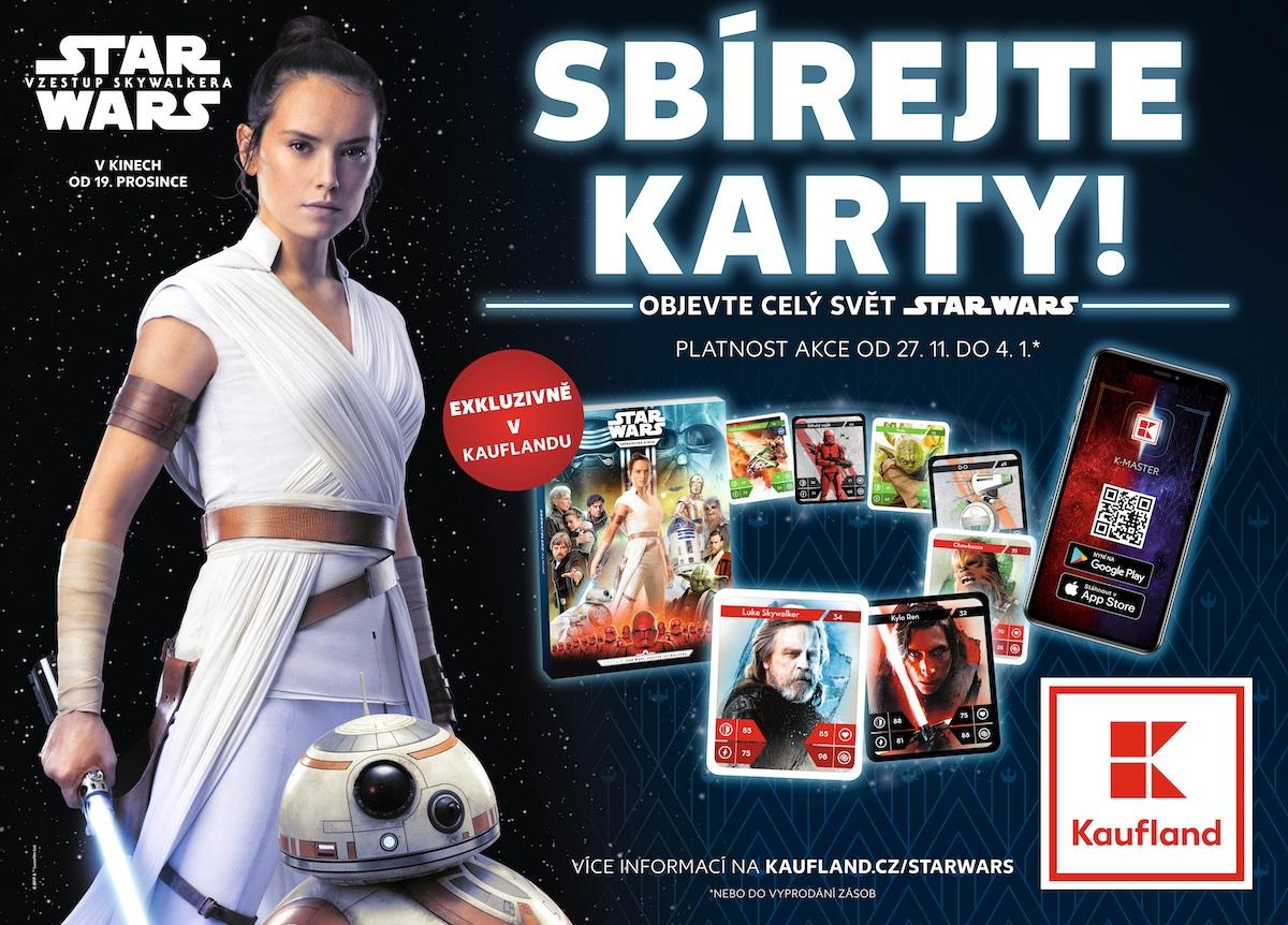 Věrnostní program Star Wars v Kauflandu