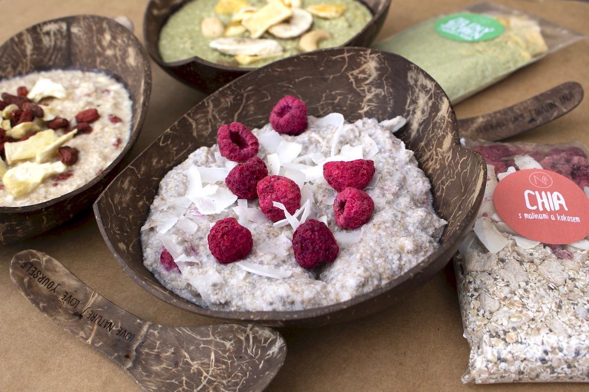 V rámci konceptu Supersnídaní je v nabídce i řada instatních kaší