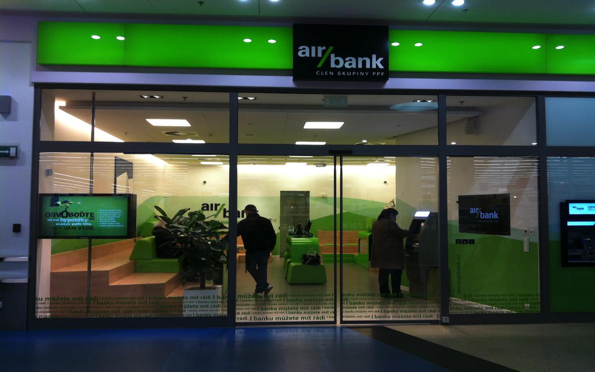 Pobočka Air Bank