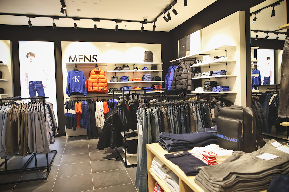 Outletová prodejna Calvin Klein Jeans se nachází ve Freeportu
