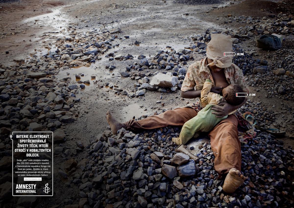 Amnesty International: Elektro otroci (Havas Prague)