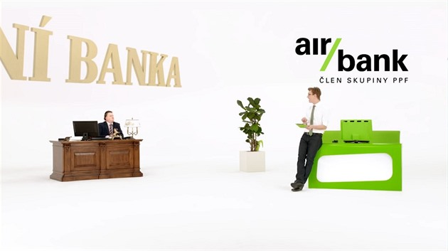 Z marketingové komunikace Air Bank