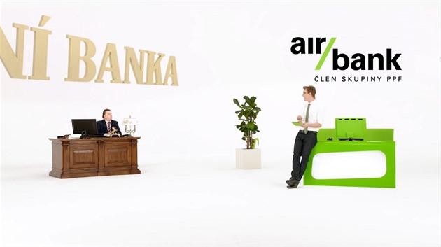 Z marketingové komunikace Air Bank