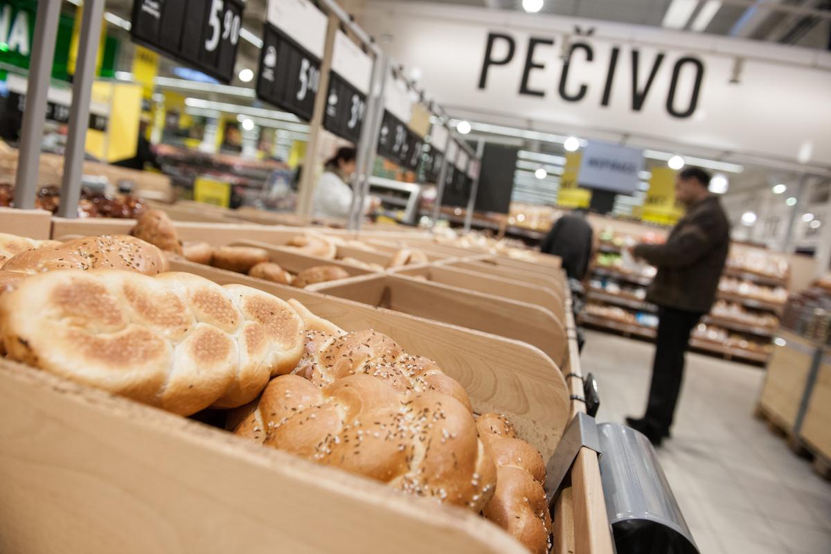 Nový Albert nabízí pečivo z vlastní pekárny i od lokálních firem