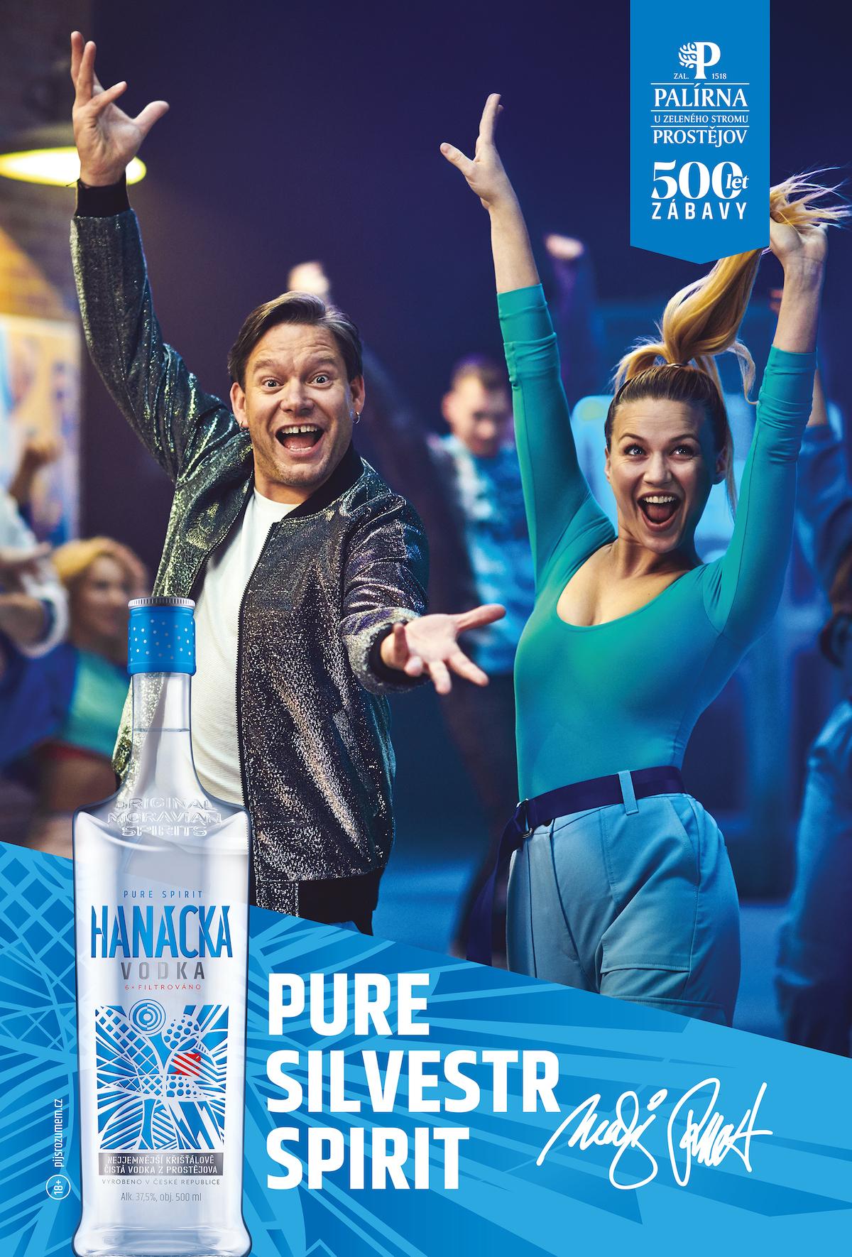 Matěj Ruppert v reklamě na Hanáckou vodku