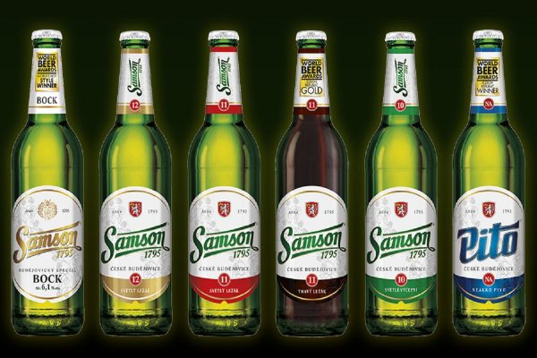 Všechna piva Samson dostanou nové etikety, jednodušší