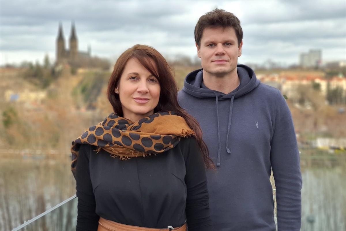 Tereza Svěráková a Tomáš Dvořák
