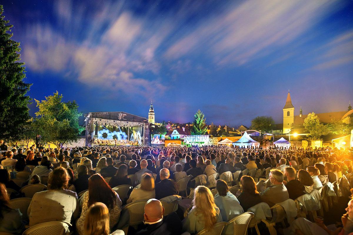 Yventech se letos podílel i na Mezinárodním hudebním festivalu Český Krumlov. Foto: Libor Sváček