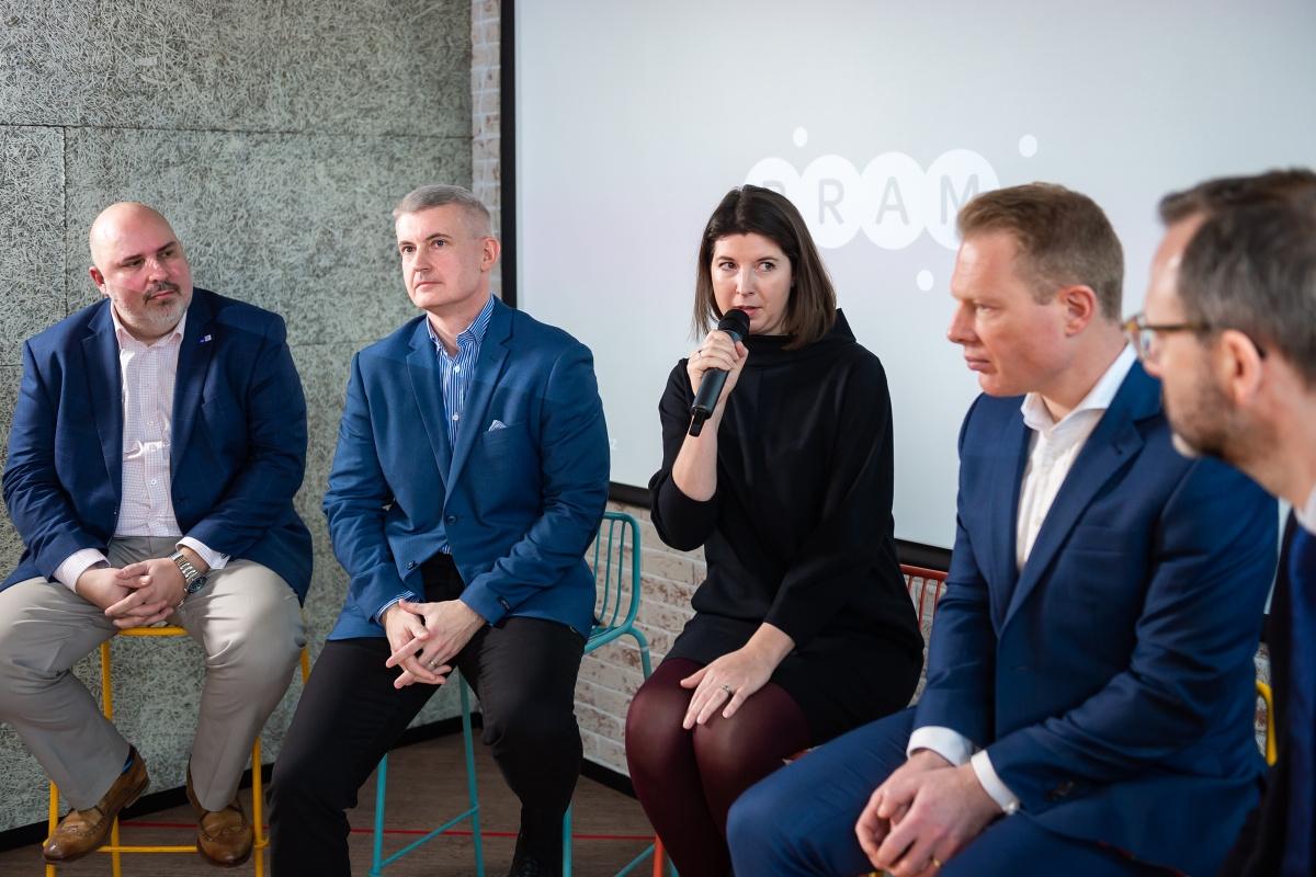 Panelová diskuse. Foto: Vojta Herout