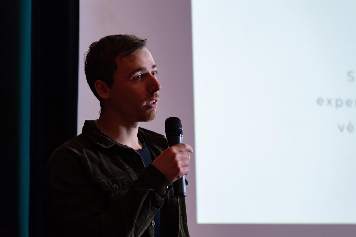 Jakub Marcin z Etnetera Motion