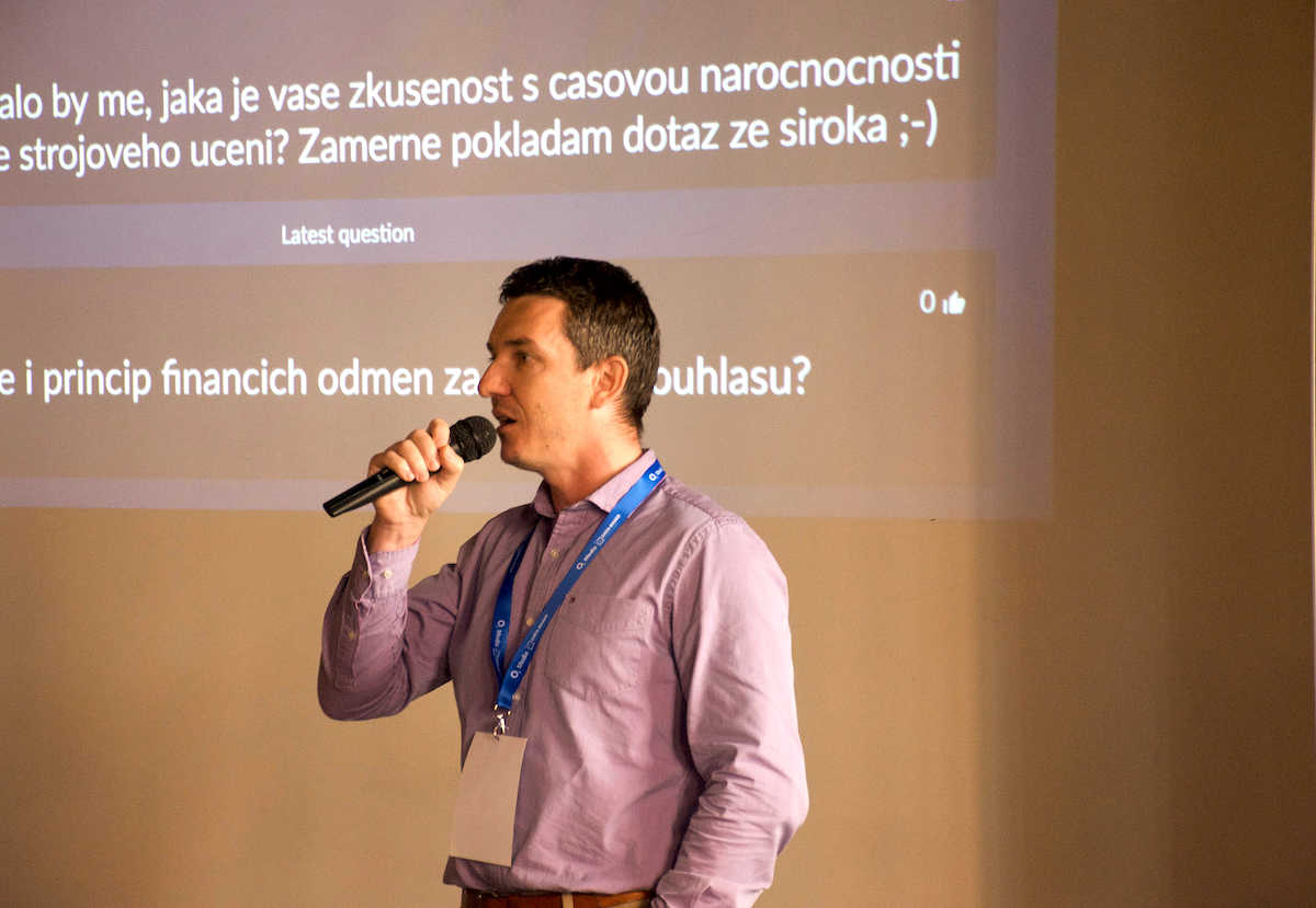 Konference Data Based v pražském Endorfinu