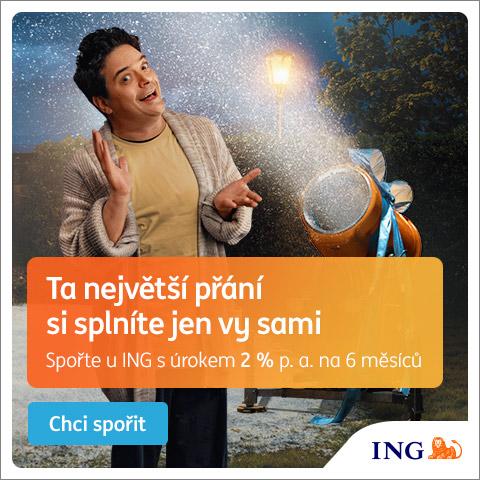 Banner z kampaně ING