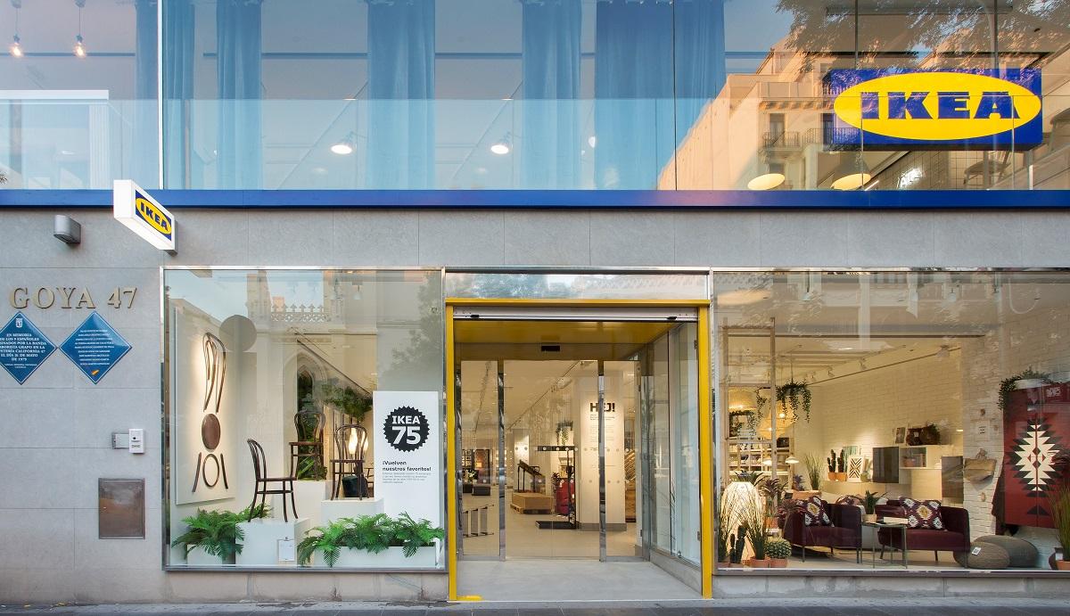 Nový koncept zmenšené prodejny otevřela Ikea v centru Madridu