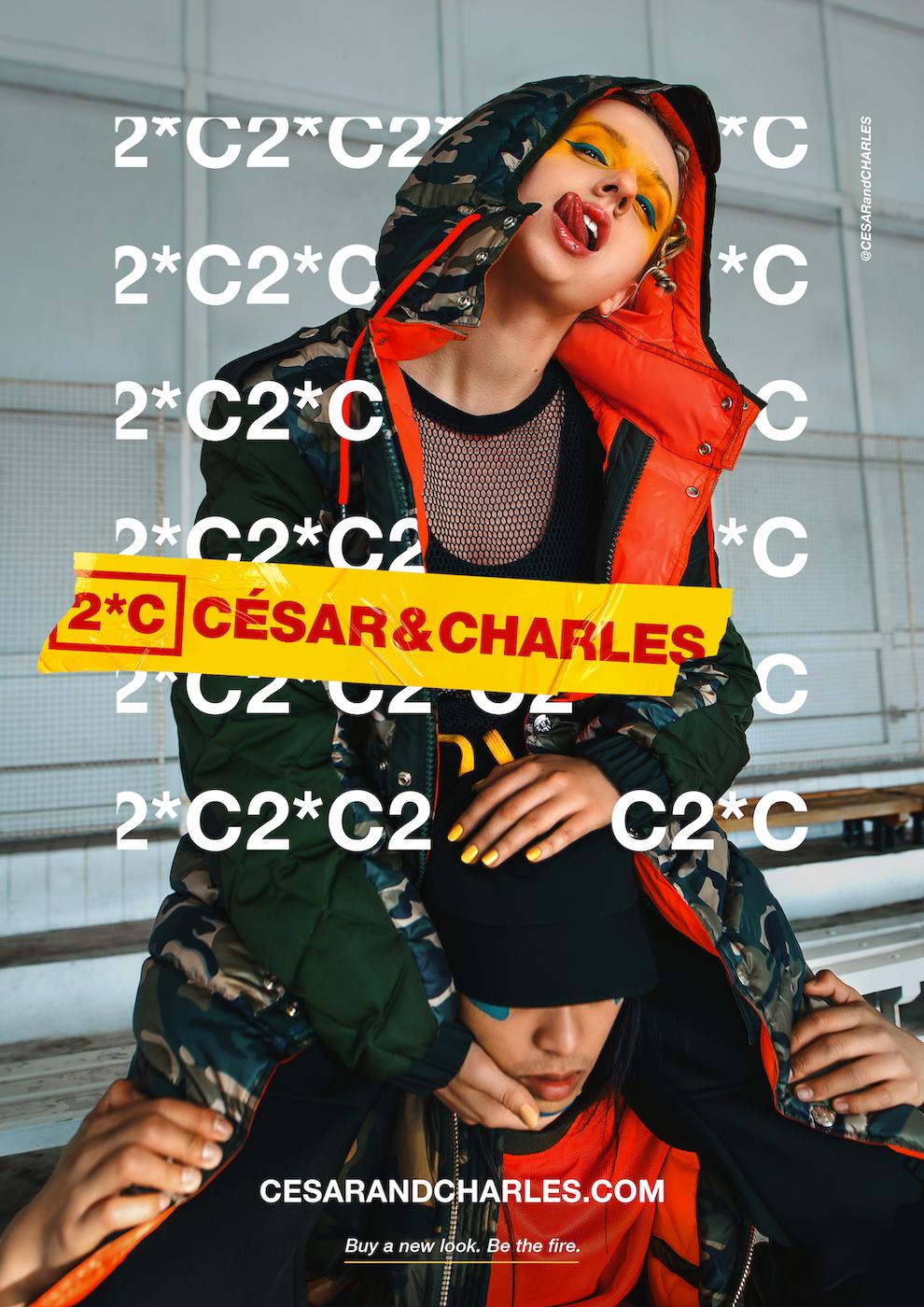 César & Charles: klíčový vizuál