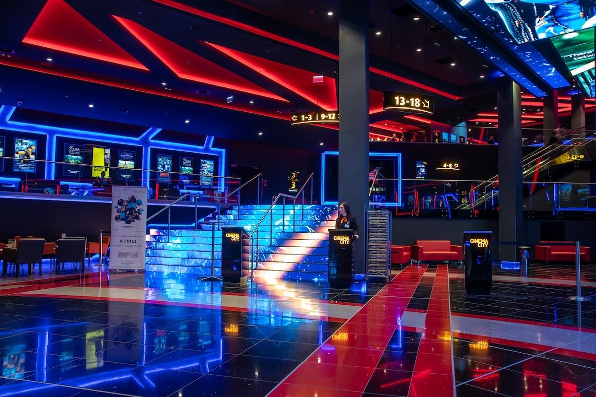 Mezi nejnovější stánky Cinema City patří gigaplex na pražském Chodově