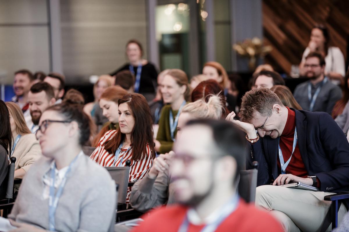 Konference proběhla v zaplněné karlínské Spojce. Foto: Barbora Mráčková