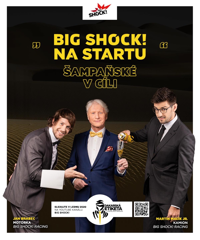 Big Shock!: Dakarská etiketa Ladislava Špačka (Socialsharks)