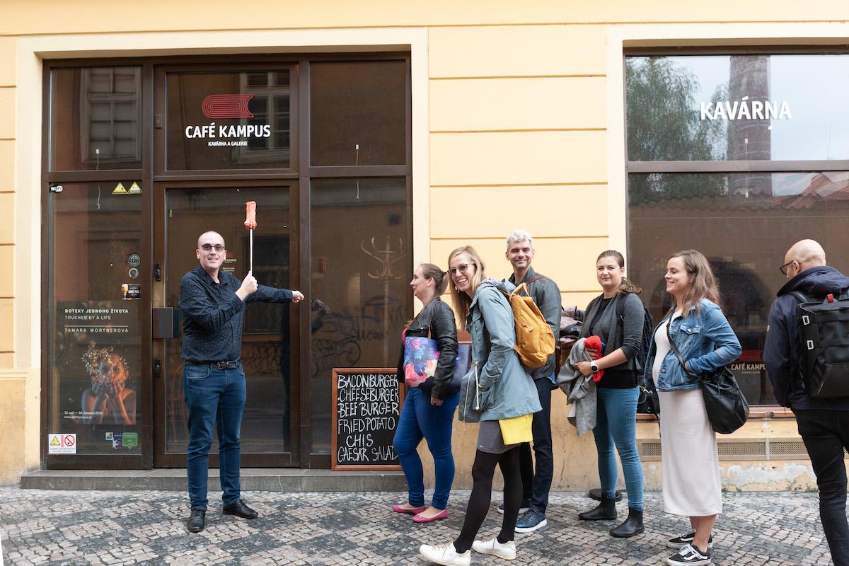 Petr Laštovka stojí za cyklem setkání digitálních agentur, které se loni přesunulo z kina Ponrepo do Café Kampus. Foto: David Bruner