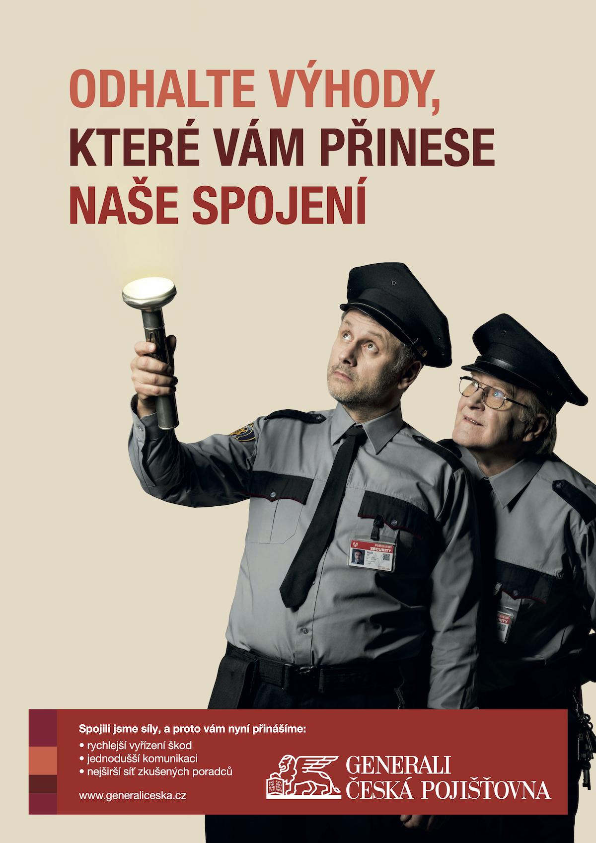Igor Chmela a Jan Vlasák v kampani Generali Česká pojišťovna