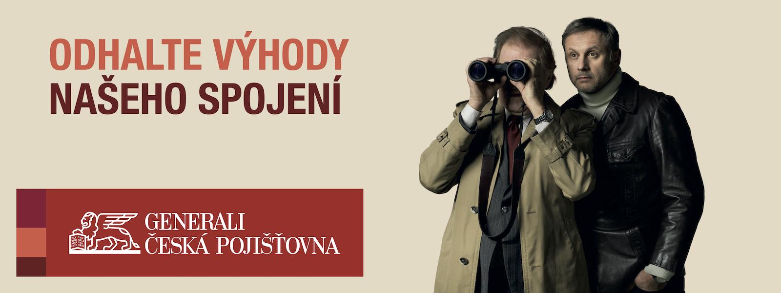Jan Vlasák a Igor Chmela v kampani Generali Česká pojišťovna