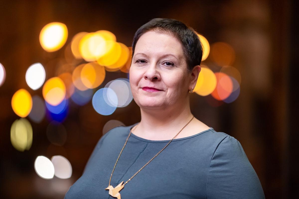 Irena Reifová. Foto: Vojta Herout