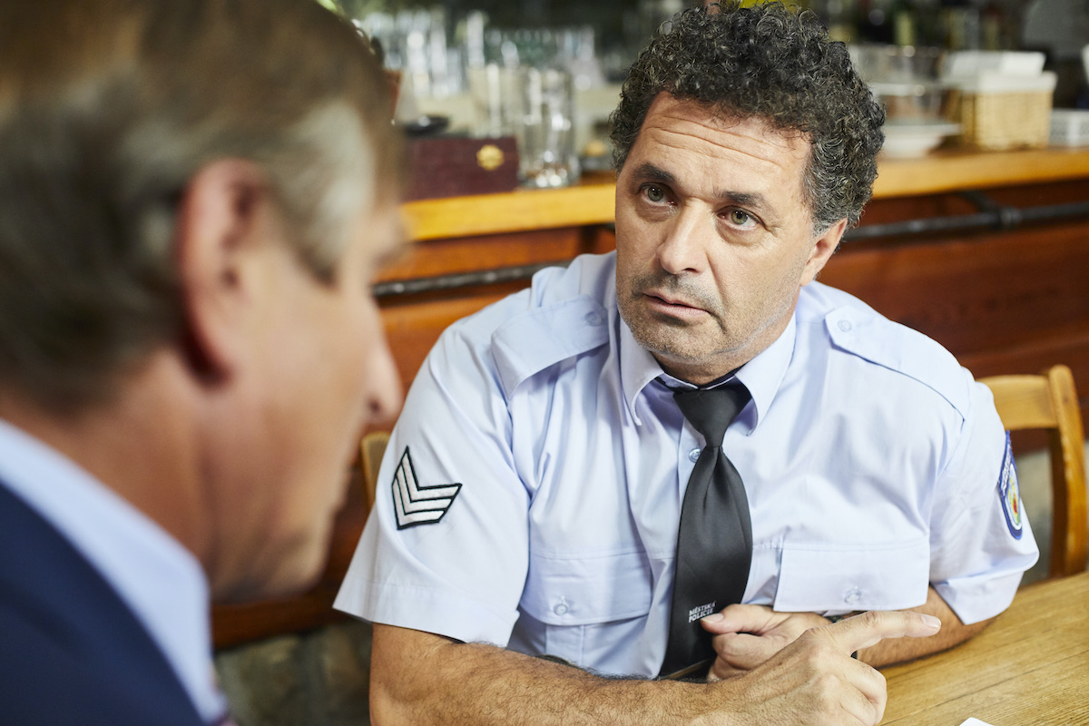Martin Dejdar jako policista v seriálu Kameňák. Foto: TV Nova