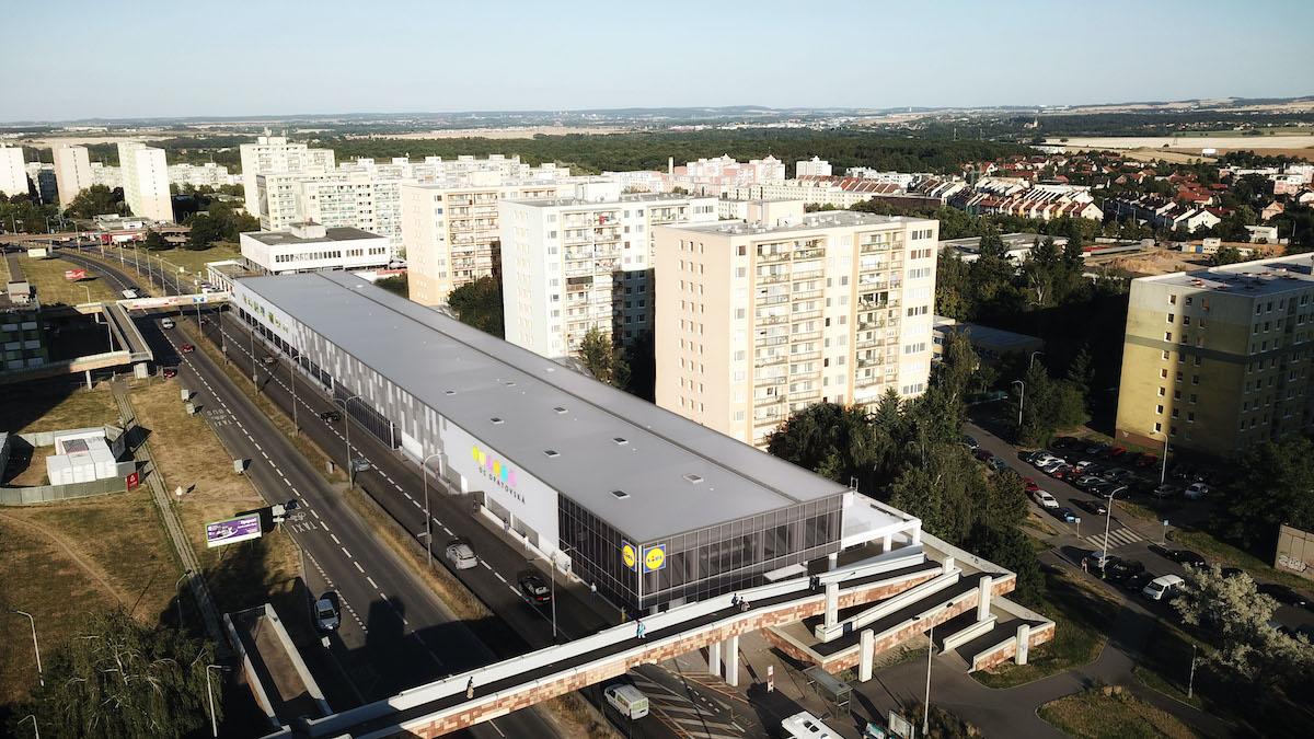 První letos nově otevřený Lidl je v novém OC Opatovská v Praze