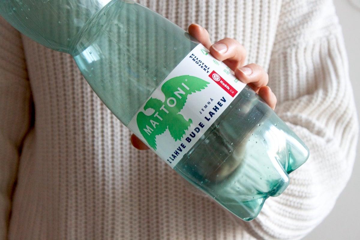 Vratná PET lahev Mattoni