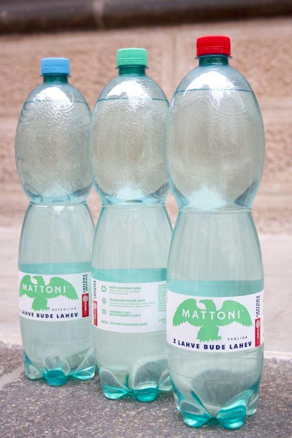 Vratné PET lahve Mattoni