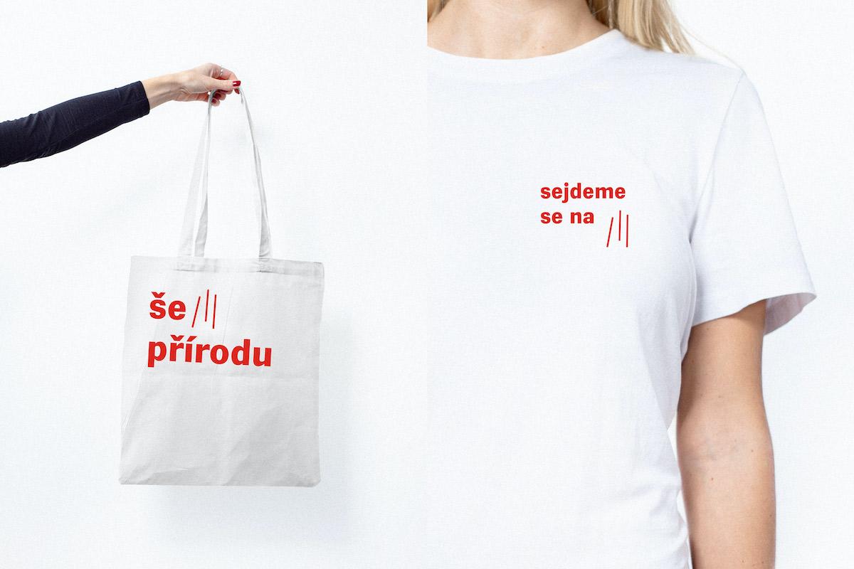 Ukázky nové vizuální identity Prahy 3
