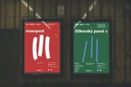 Prahy 3 má nový vizuál, stojí na třech čárkách