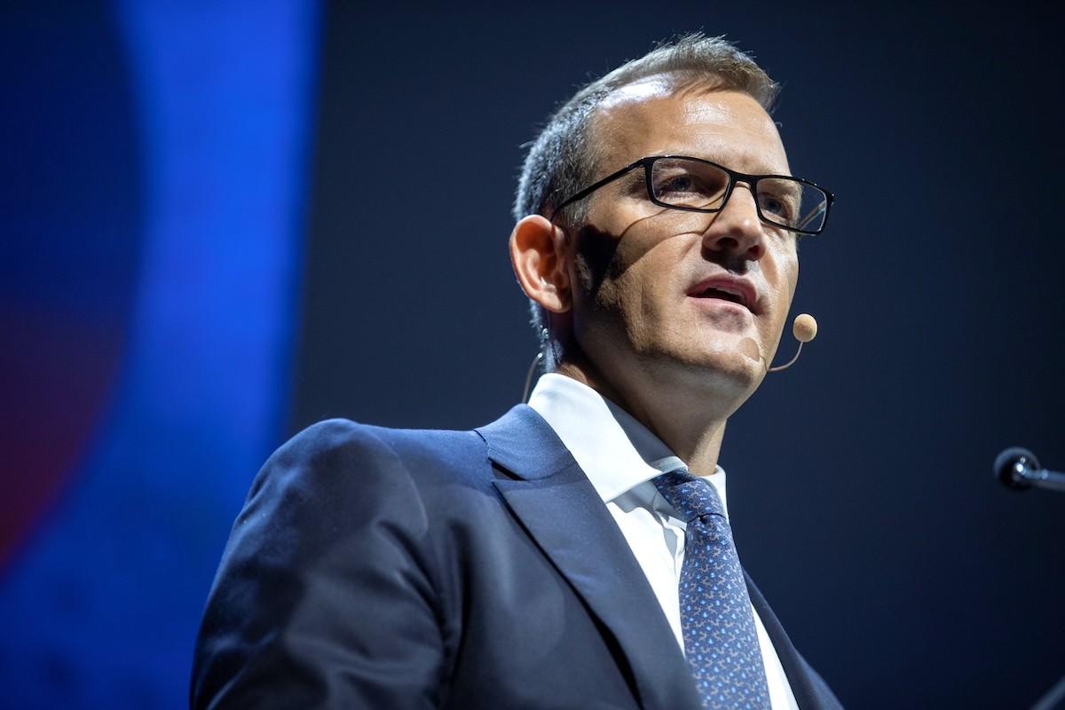 Daniel Křetínský v září 2019 promluvil na konferenci Rencontres de l'Udecam. Foto: Profimedia.cz
