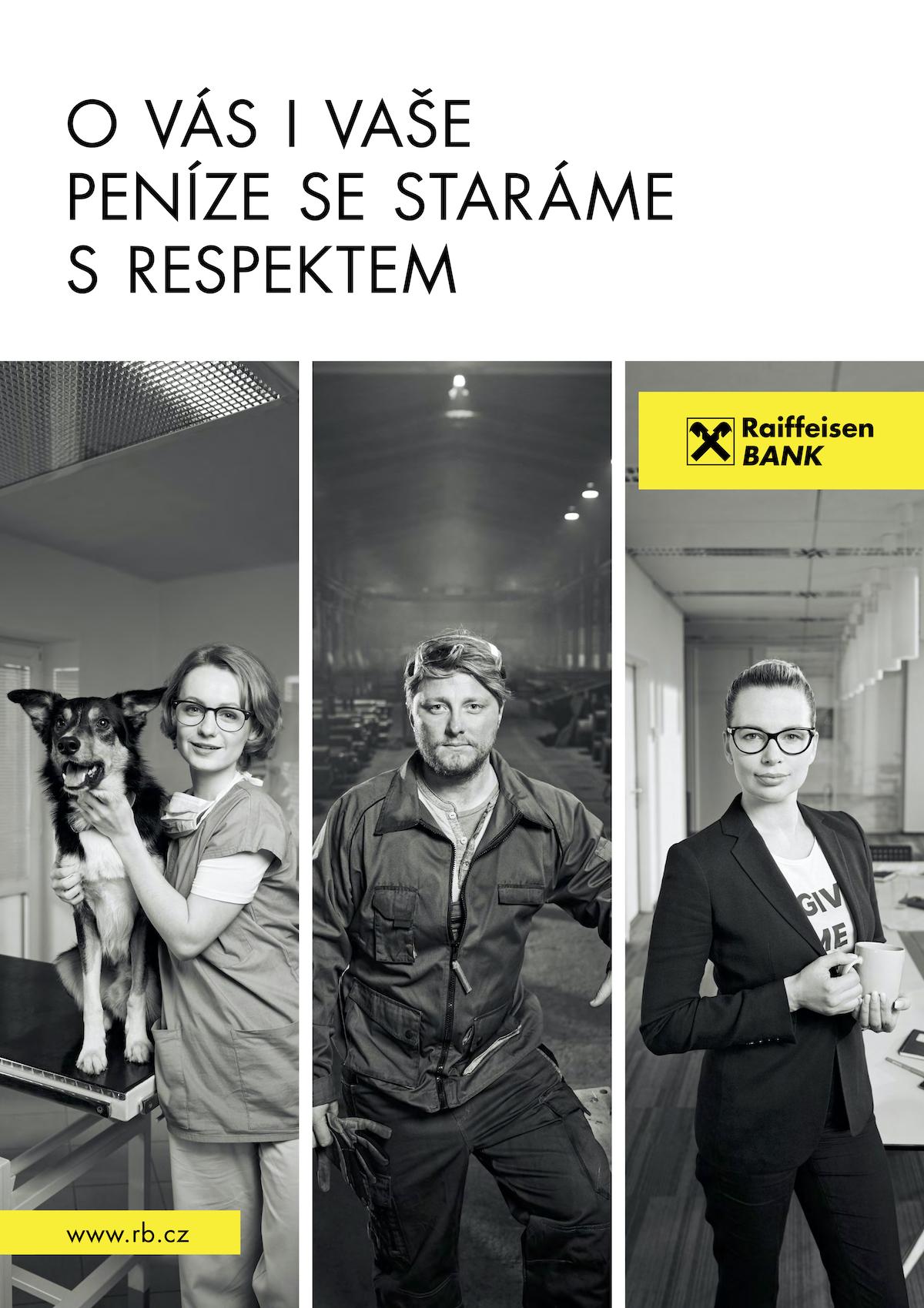 Raiffeisenbank: Respekt (DDB Prague)