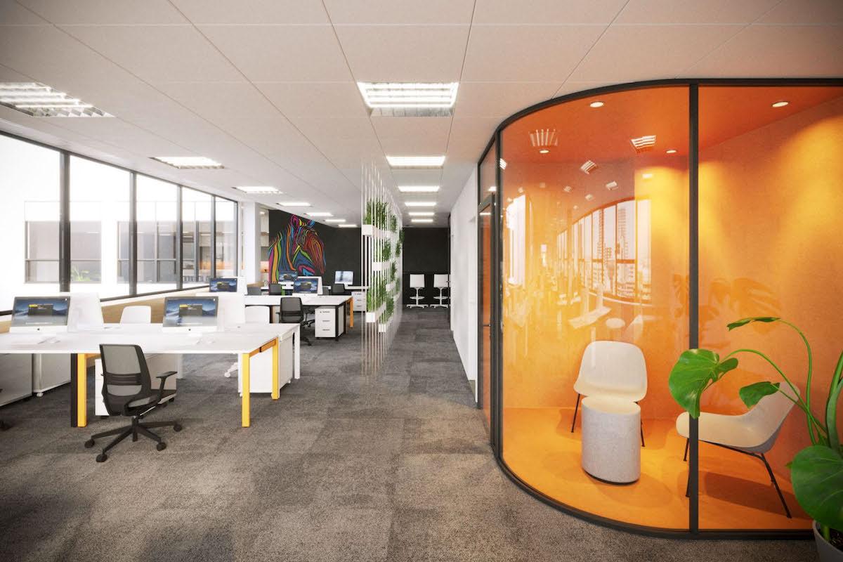 Shoptet se v roce 2019 přestěhoval do nových kanceláří v Karlíně