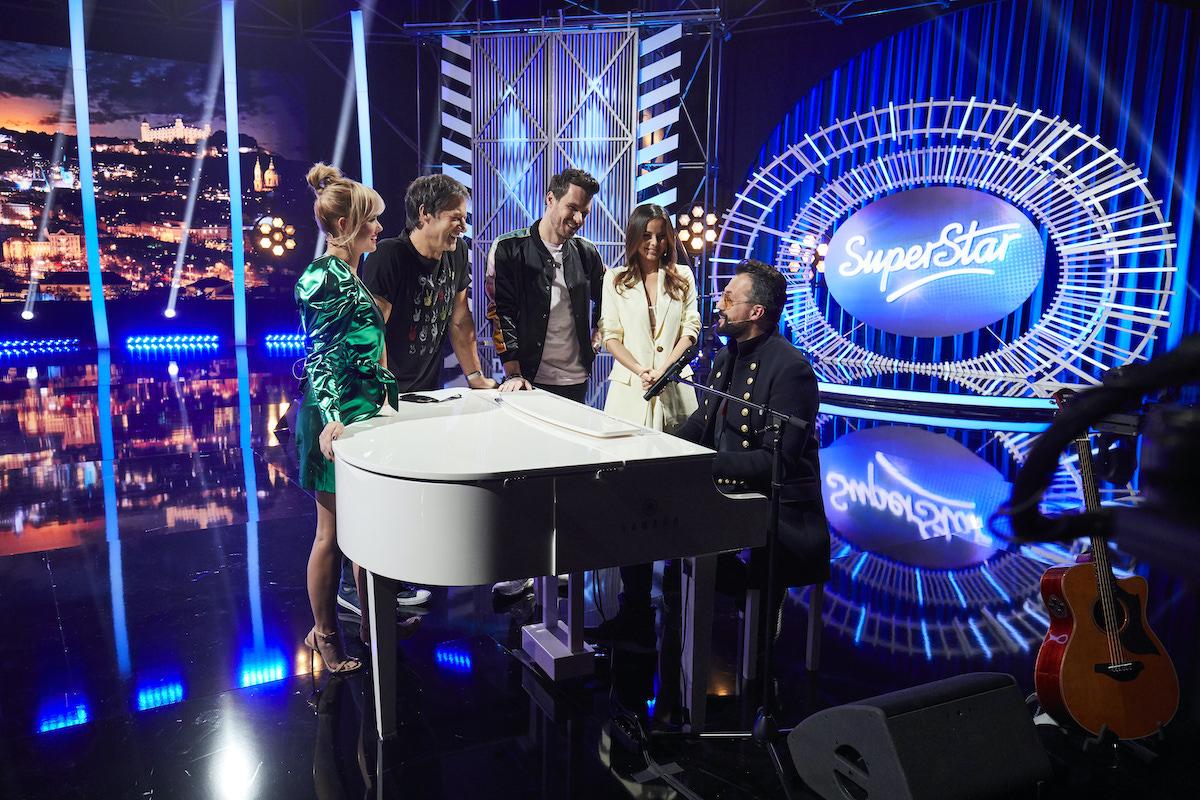 Porotci talentové show SuperStar. Foto: TV Nova