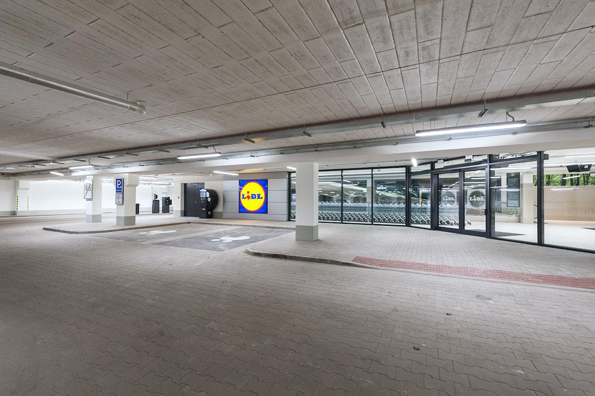 Nová prodejna Lidlu v Písku: vstup do prodejny