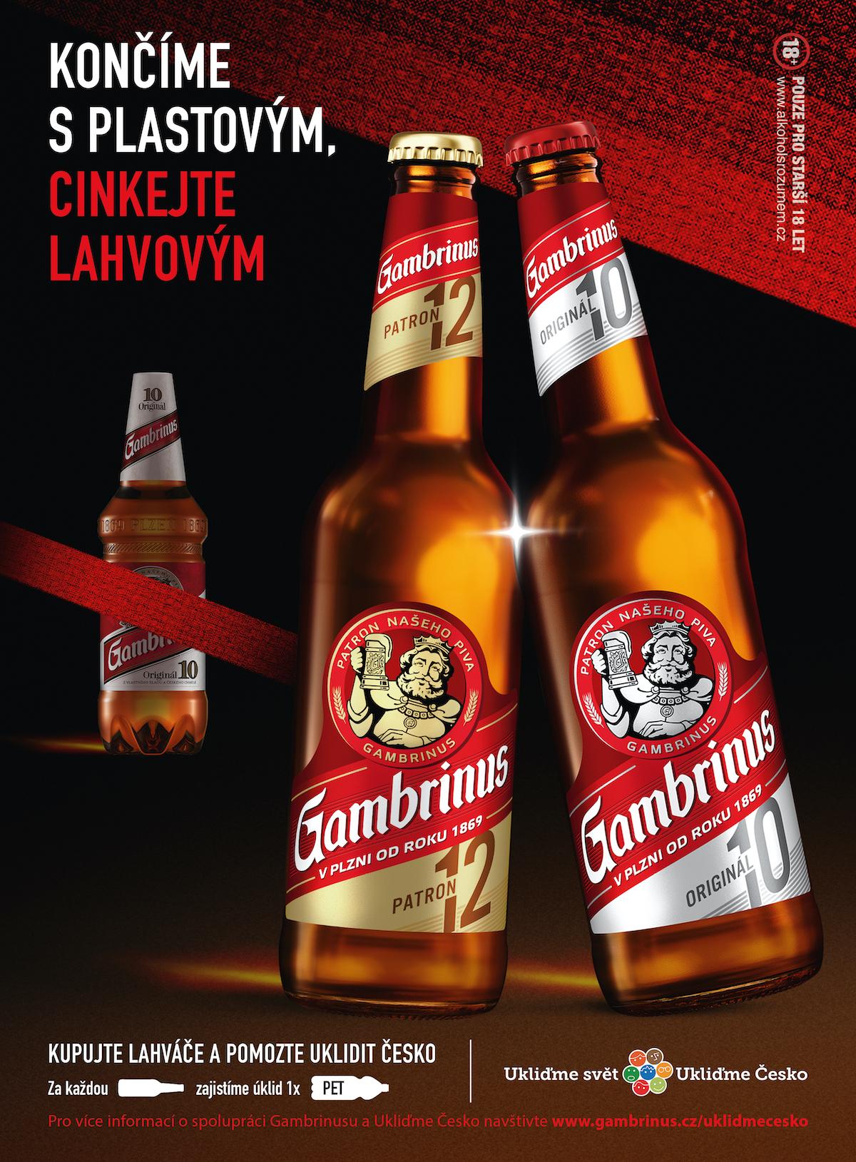 Gambrinus: Končíme s plastovým (Triad Advertising)