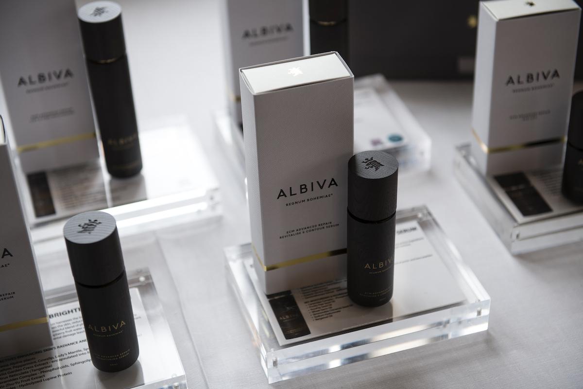 Kosmetika značky Albiva