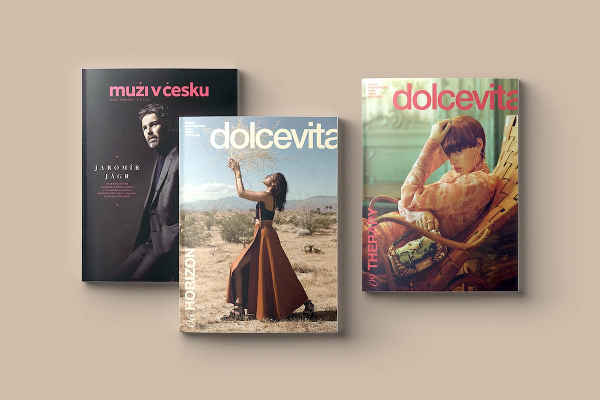 Muži v Česku a nyní i Dolce Vita, to je produkce vydavatelství New Look Media