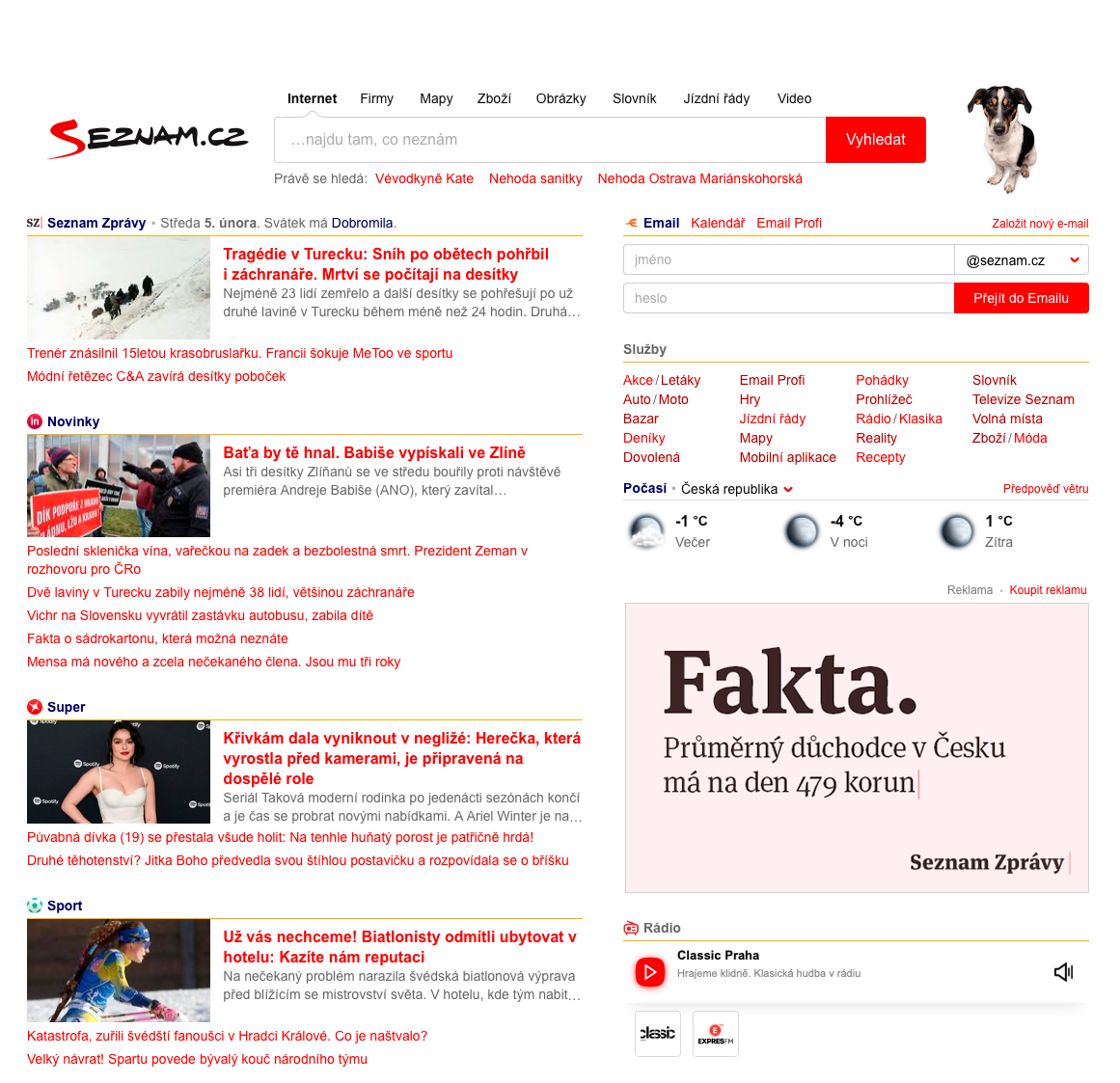 Seznam.cz: Fakta