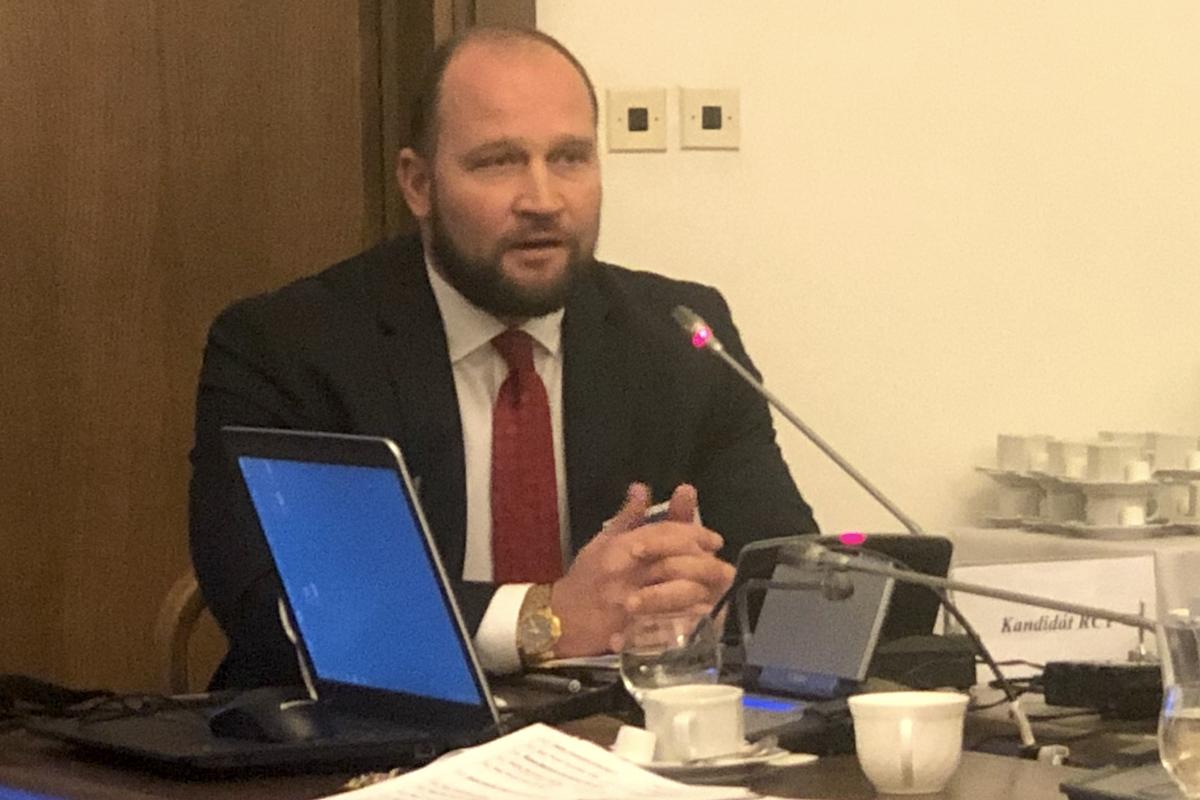 Jiří Šlégr jako kandidát do Rady ČT