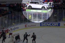 Isobar umístil do živých hokejových přenosů virtuální škodovky