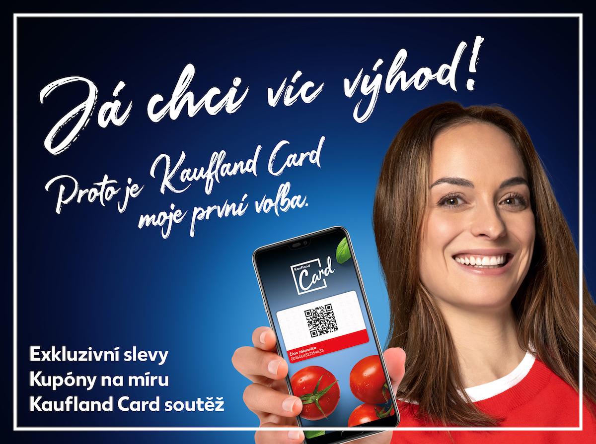 Propagace na Kaufland Card má stejnou úpravu jako letošní celoroční kampaň Kaufland sobě