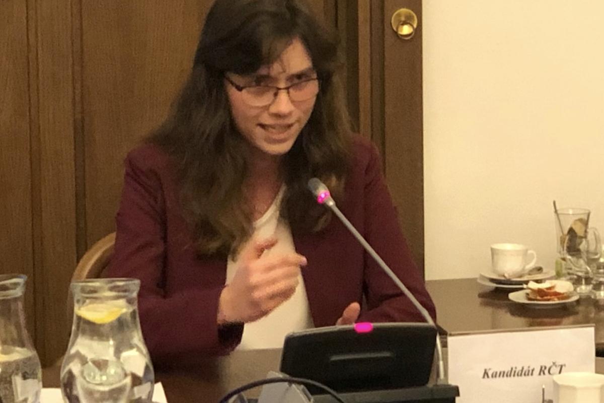 Hana Lipovská jako kandidátka do Rady ČT