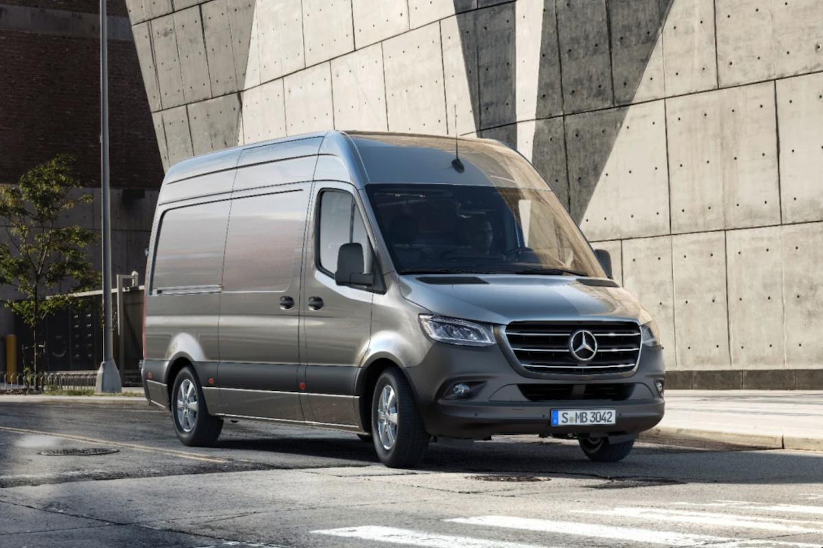Dodávka Mercedes-Benz