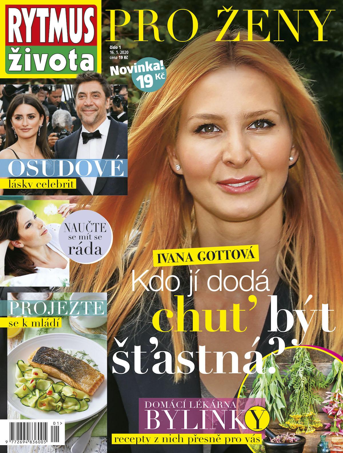 Titulní strana časopisu Rytmus života pro ženy