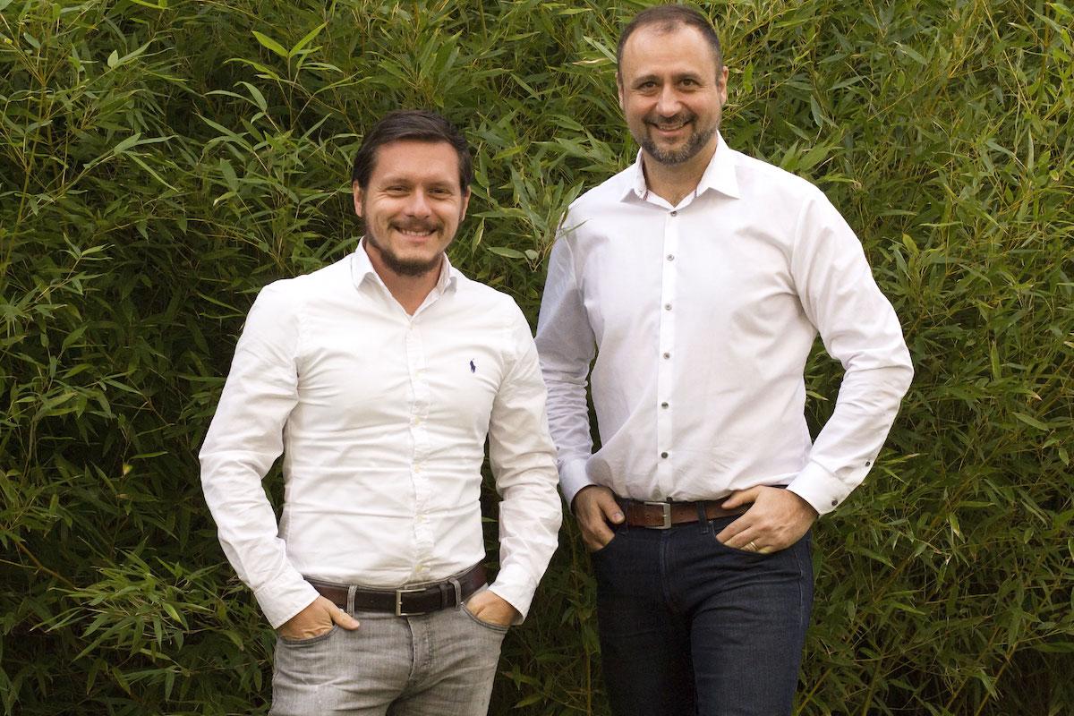 Šéf Knowlimits Jan Vidím (vlevo) a zakladatel Fragile Daniel Kafka