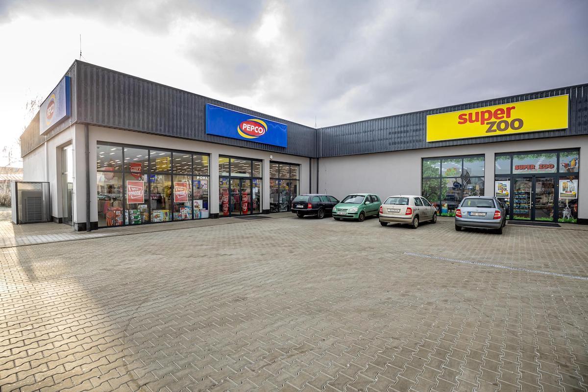 Retail park v Čáslavi